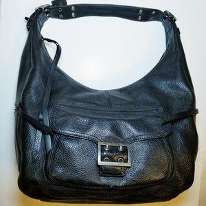 Banana Republic Black Leather Bag